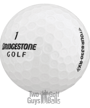 Image of Bridgestone B330 used golf balls