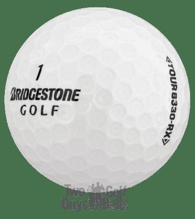 Image of Bridgestone B330 used golf balls