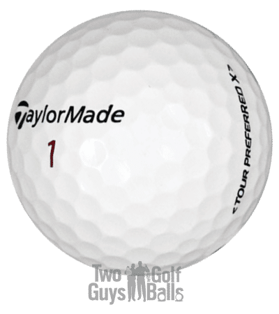 TaylorMade Tour Preferred Used Golf Balls image