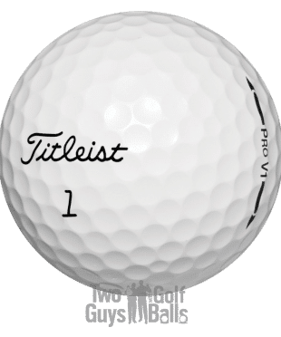 used golf ball image of ProV1