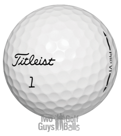 used golf ball image of ProV1