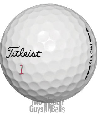 Image of Titleist Pro V1x Used golf balls