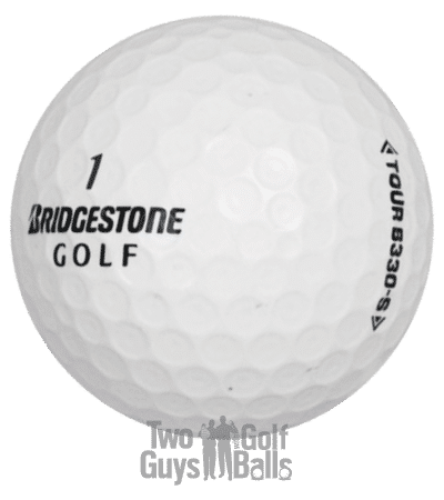 Used Bridgestone BXS/B330S golf ball