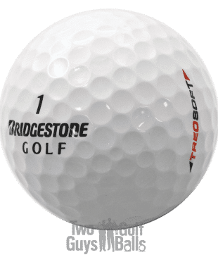 Bridgestone Treosoft used golf balls
