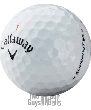 Callaway Super Hot 55 used golf ball image