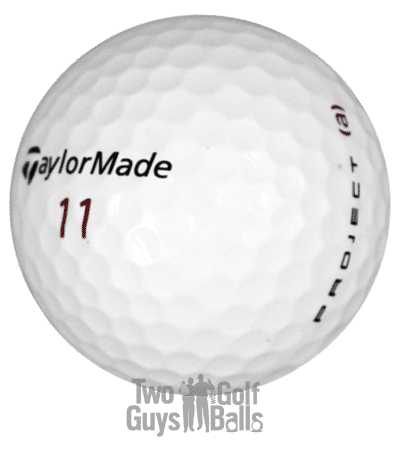 TaylorMade Project A used golf balls image