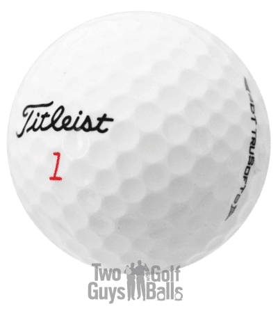 Image of Titleist DT Trusoft used golf balls