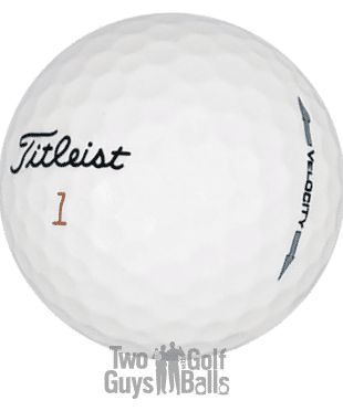 Titleist Velocity Used Golf Ball Images