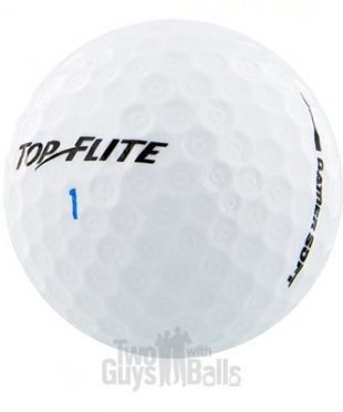 Used Top Flite Gamer Golf Balls