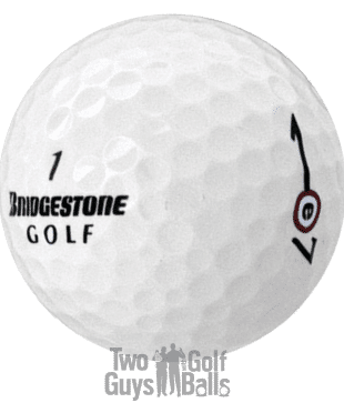 Bridgestone e7 used golf balls image