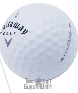 Callaway Warbird used golf ball image
