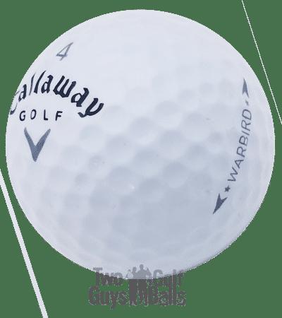Callaway Warbird used golf ball image
