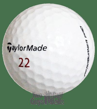 TaylorMade AeroBurner Pro Used golf balls image