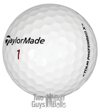 TaylorMade Tour Preferred used golf balls