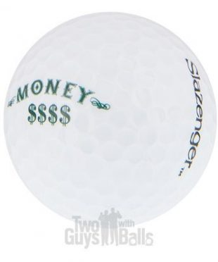 Used Slazenger Money Golf Balls