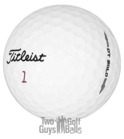 Image of Titleist DT Solo used golf balls