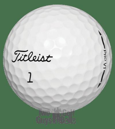 Titleist Pro V1 used golf balls image