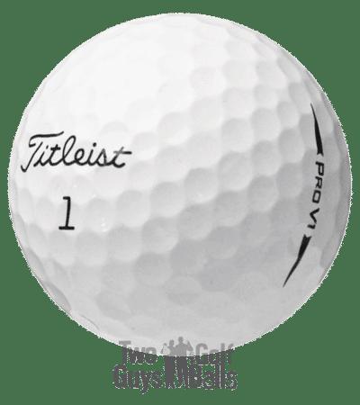 Titleist Pro V1 used golf balls