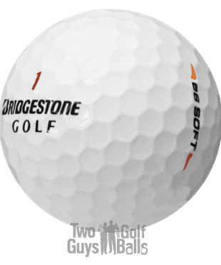 image of bridgestone e6 soft usedgolfballs