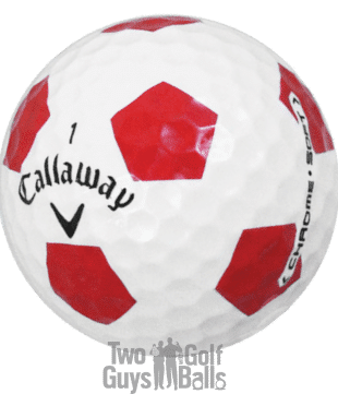 Callaway Chromse Soft Truvis used golf balls image