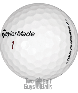 Taylormade Penta Mix Used Golf Balls image