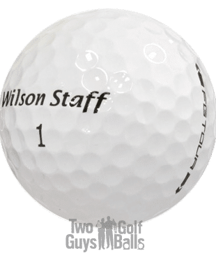 Wilson Staff used golf balls image