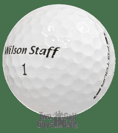 Wilson Staff used golf balls image