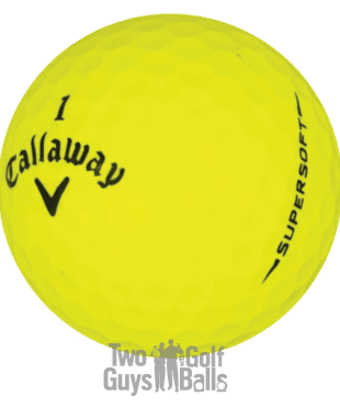 Image of Callaway Supersoft Yellow Used golf balls