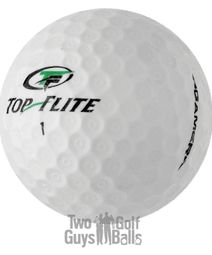 Top Flite Gamer image for Top Flite mix on used golf balls