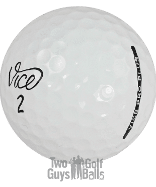 Vice Pro Plus used golf balls image