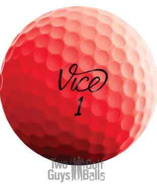 Vice Pro Red Used Golf Balls image