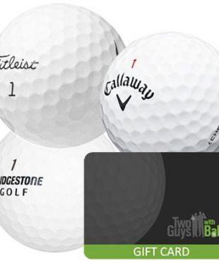 Golf Balls Gift Card