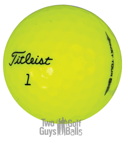 Image of Titleist NXT Tour used golf balls
