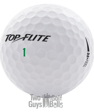 Image of Top Flite D2 plus feel used golf balls