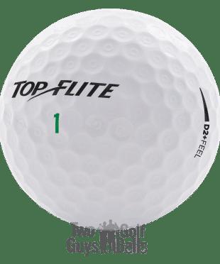 Image of Top Flite D2 plus feel used golf balls