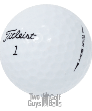 Image of Titlelist Tour Soft used golf balls