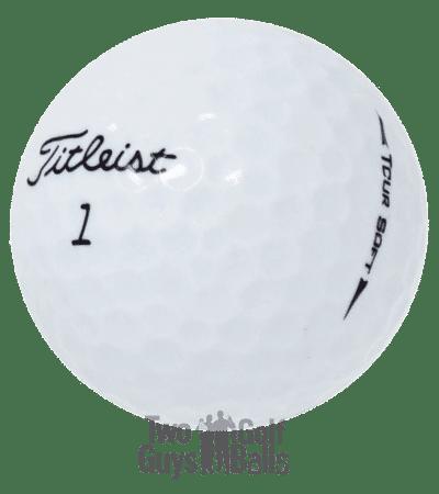 Image of Titlelist Tour Soft used golf balls