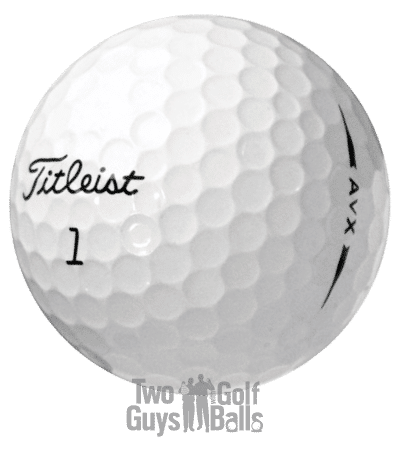 Image of Titleist AVX used golf balls