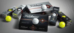 2019 Titleist ProV1 yellow balls image