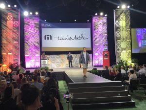 Travis Matthew fashion show