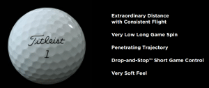 Details of New Titleist ProV1 used golf ball