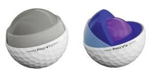 2019 Images of ProV1 vs ProV1x 3 piece and 4 piece core