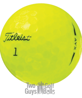 Titlesist AVX Yellow used golf balls