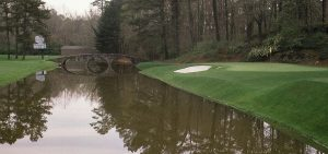 Rae's Creek at Augusta National Golf Course Home of the Masters major championship