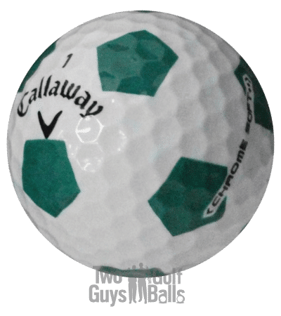 Callaway Chrome Soft Truvis Green used golf ball image