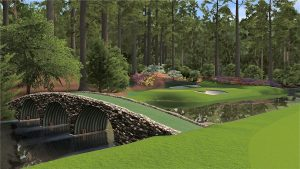 Augusta National Golf Club image of Hogan's Bridge at the Masters