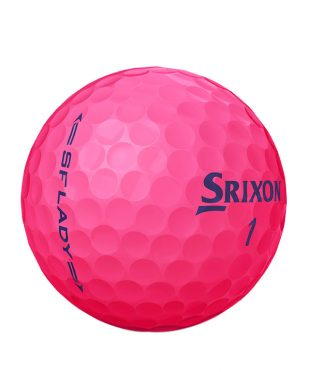 Pink image of Srixon Soft Feel Lady used golf balls