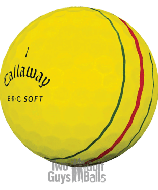Callaway ERC Soft Yellow used golf balls