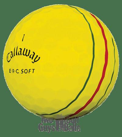 Callaway ERC Soft Yellow used golf balls