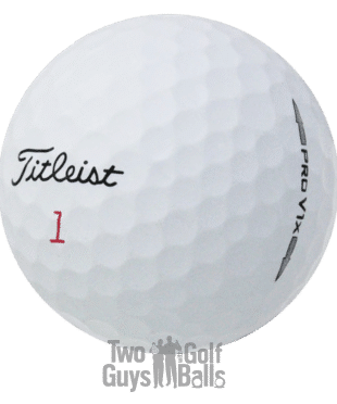 Titleist Pro V1x used golf balls